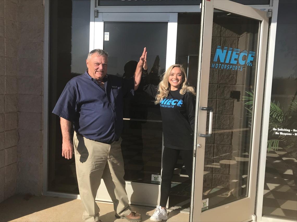 Natalie Decker Opens New Door With Niece Motorsports